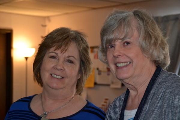 Deb and Susan